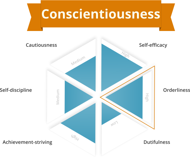 Conscientiousness personality trait