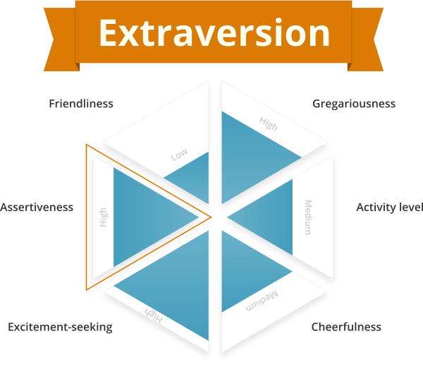 Extraversion personality trait
