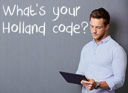 Holland Codes career test