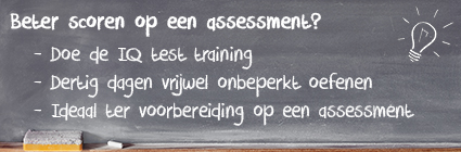 IQ test training op 123test.nl