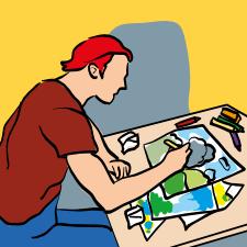 skizzieren und entwerfen