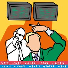 Börsenmakler/in
